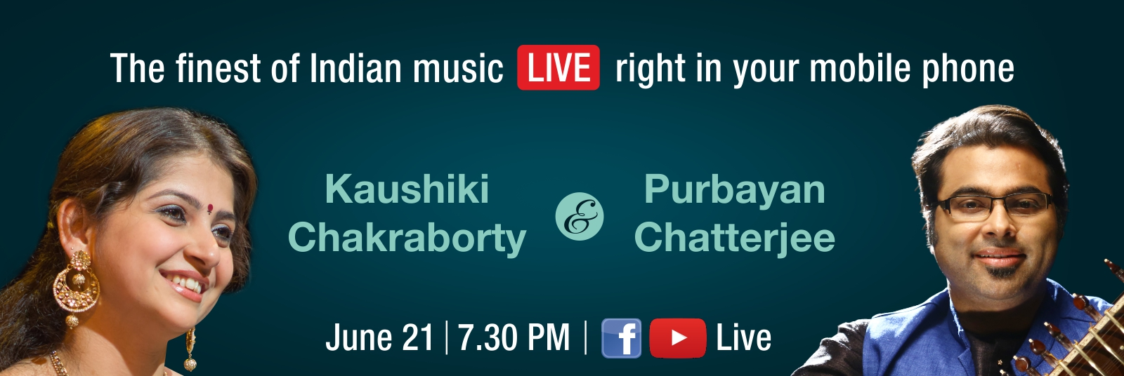 Watch them live on HCL Concerts Facebook & YouTube channels